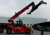 265kW Engine Shipping Container Lifting Equipment Sany Heli Kalmer Reachstacker SRSC45C31
