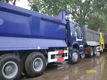 CNHTC HOWO 6X4 Dump Truck 290/336 / 371hp Engine U - Type Cargo Body