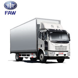 FAW J6L Heavy Cargo Truck / Automatic Transmission Commercial Delivery Vehicle